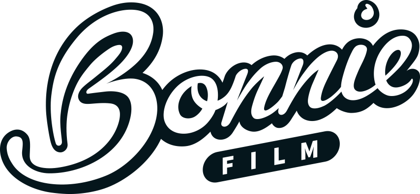 Bonnie Film logo design by freelance designer Geoff Muskett