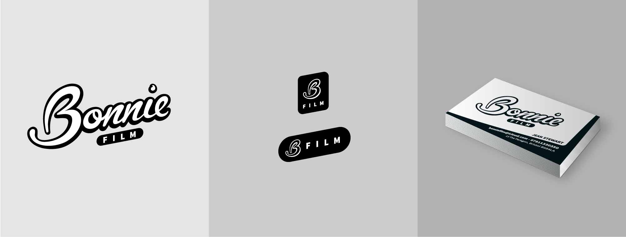 Logo design, icon and business cards